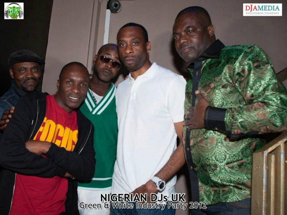 Nigeria's finest UK DJs industry party 2012 (2/6)