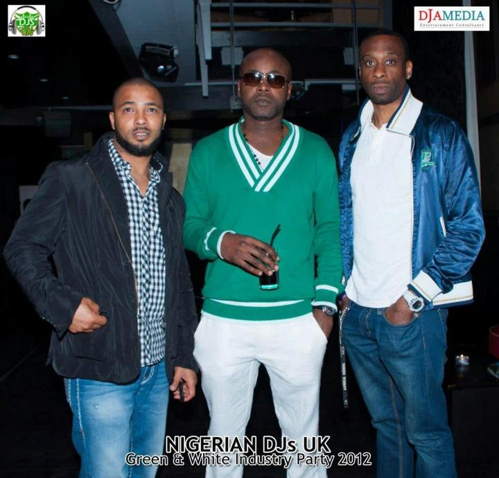 Nigeria's finest UK DJs industry party 2012 (3/6)